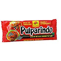 Pulparindo Extra Spicy Tamarind Pulp Candy 0.5-Ounce Bar 12 Count [並行輸入品]