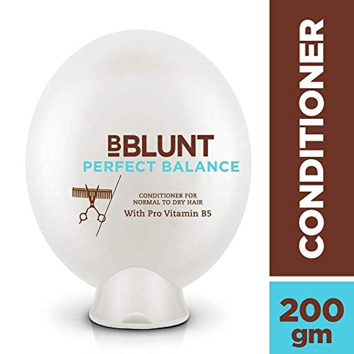 弁護士触手ゾーンBBLUNT Perfect Balance Conditioner for Normal To Dry Hair, 200g (Provitamin B5)