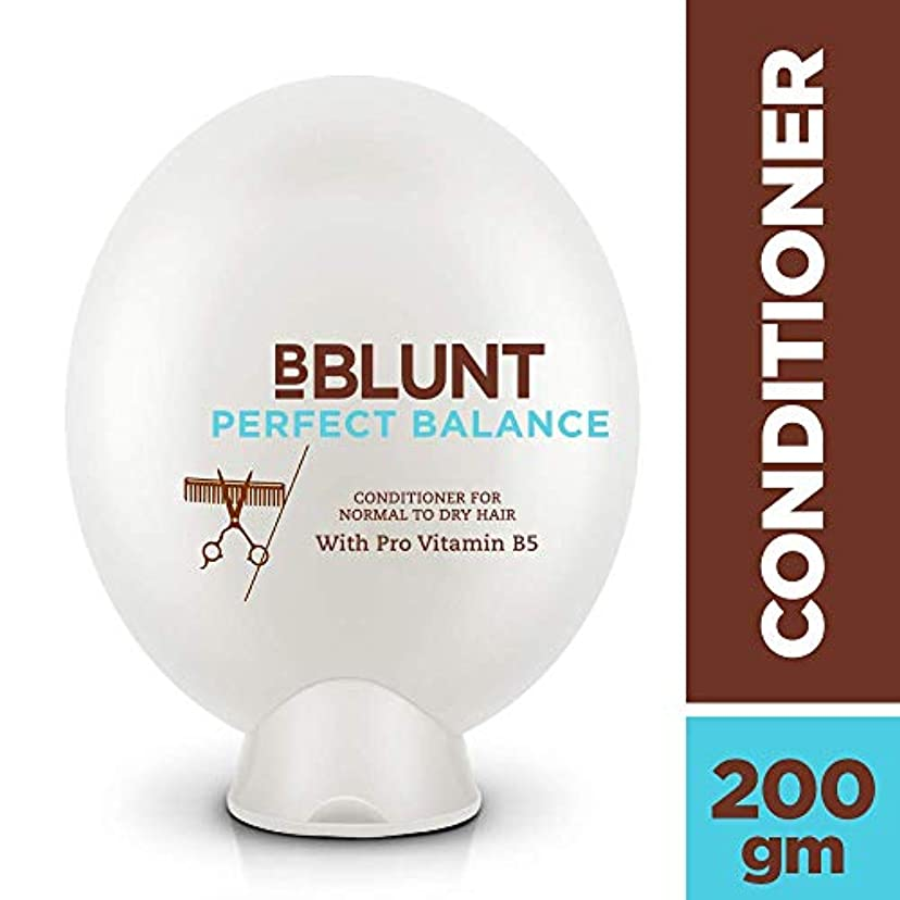 優雅な激しいオンスBBLUNT Perfect Balance Conditioner for Normal To Dry Hair, 200g (Provitamin B5)