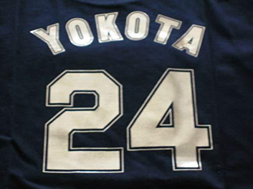 阪神タイガース 横田慎太郎 24 ゴールドTシャツ S