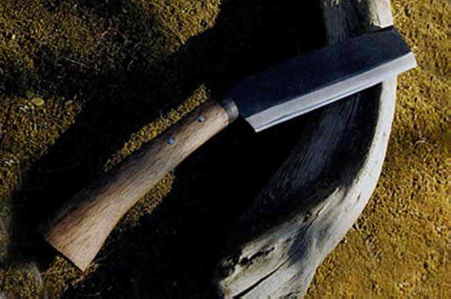 マントシェア申し立てる間伐腰鉈 7寸 片刃左 白鋼 bip013-006