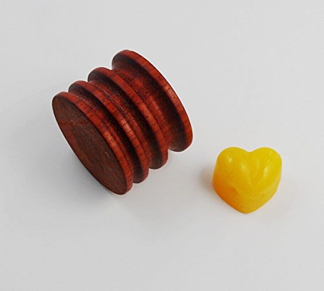 投資するロープ関連付けるCHENGYIDA 木製丸型へり磨き 革工芸 革手芸 革細工道具 ラウンドハンドバーナーとバニッシングワックスコンボ(レザー、工具、ココボロスリッカー)