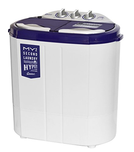 シービージャパン マイセカンドランドリーハイパー ホワイト 商品サイズ:(約) 横550×奥360×高さ575mm 小型 洗濯機 2槽式