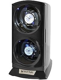 ベルソス ワインディングマシーン 縦型ツイン LEDライト付き ブラック 2本巻き VS-WW012