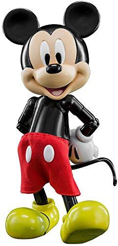 ハイブリッド・メタル・フィギュレーション ディズニー #030ミッキーマウス 高さ約14センチ 合金製 塗装済み可動フィギュア