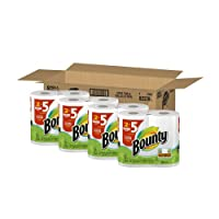 Bounty Paper Towels 8 Huge Rolls by Bounty