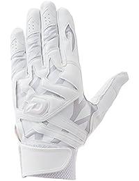 DeMARINI(ディマリニ) 高校野球対応 バッティンググラブ(両手用) 手袋 WTABG0701 ホワイト 甲側フローティング構造モデル