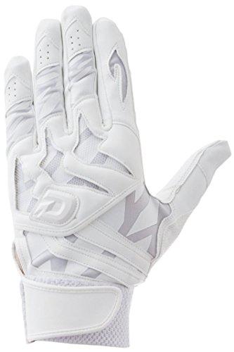DeMARINI(ディマリニ) バッティング手袋(両手用)  WTABG0701M ホワイト M