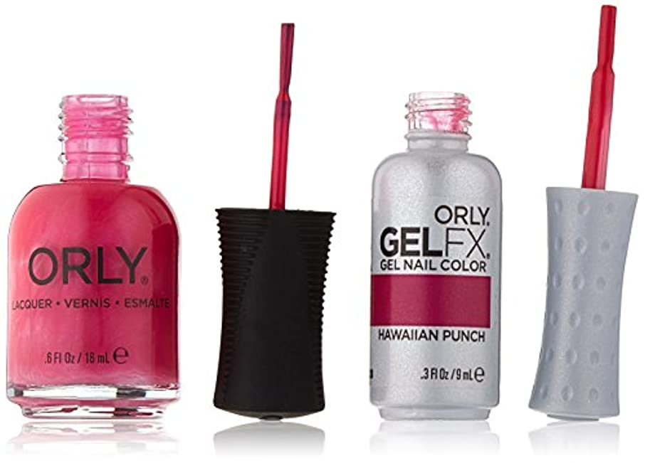 Orly Nail Lacquer + Gel FX - Perfect Pair Matching DUO - Hawaiian Punch