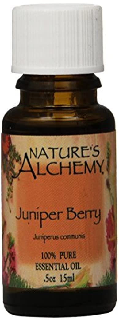 考案する通知ゲームNature's Alchemy, Juniper Berry, Essential Oil, 0.5 oz (15 ml)