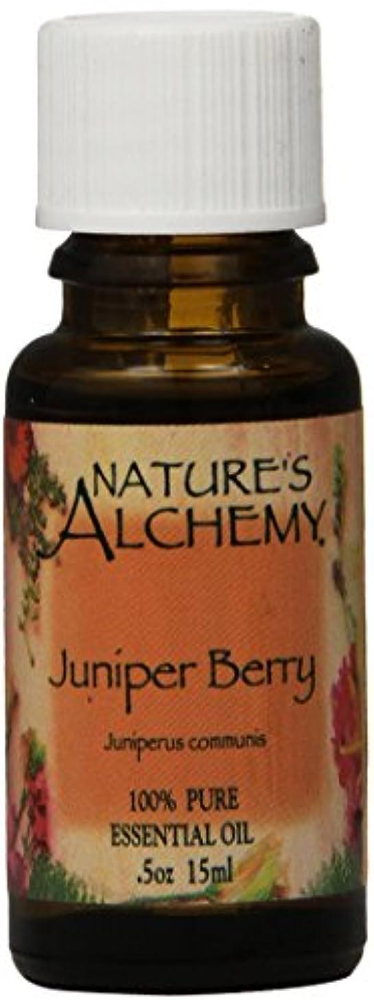 便利さ女性エールNature's Alchemy, Juniper Berry, Essential Oil, 0.5 oz (15 ml)