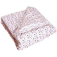 Organic Cotton Receiving Blanket Double Layer Stars [並行輸入品]