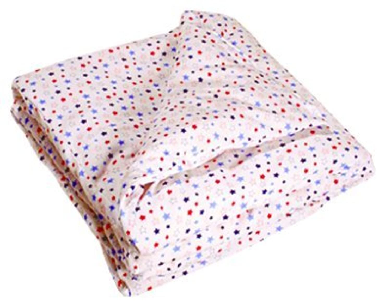 Organic Cotton Receiving Blanket Double Layer Stars [並行輸入品]