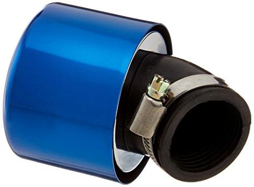 キタコ(KITACO) スーパーパワーフィルター(φ35/ワープ45°) モンキー(MONKEY)/ゴリラ/エイプ50/エイプ100等 ブルーアルマイト 515-0700350