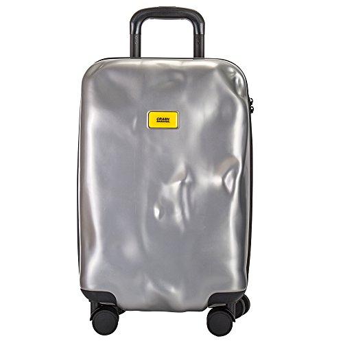 クラッシュバゲージ Crash Baggage スーツケース 40L ブライト Sサイズ 機内持ち込み CB111 シルバー(21) [並行輸入品]