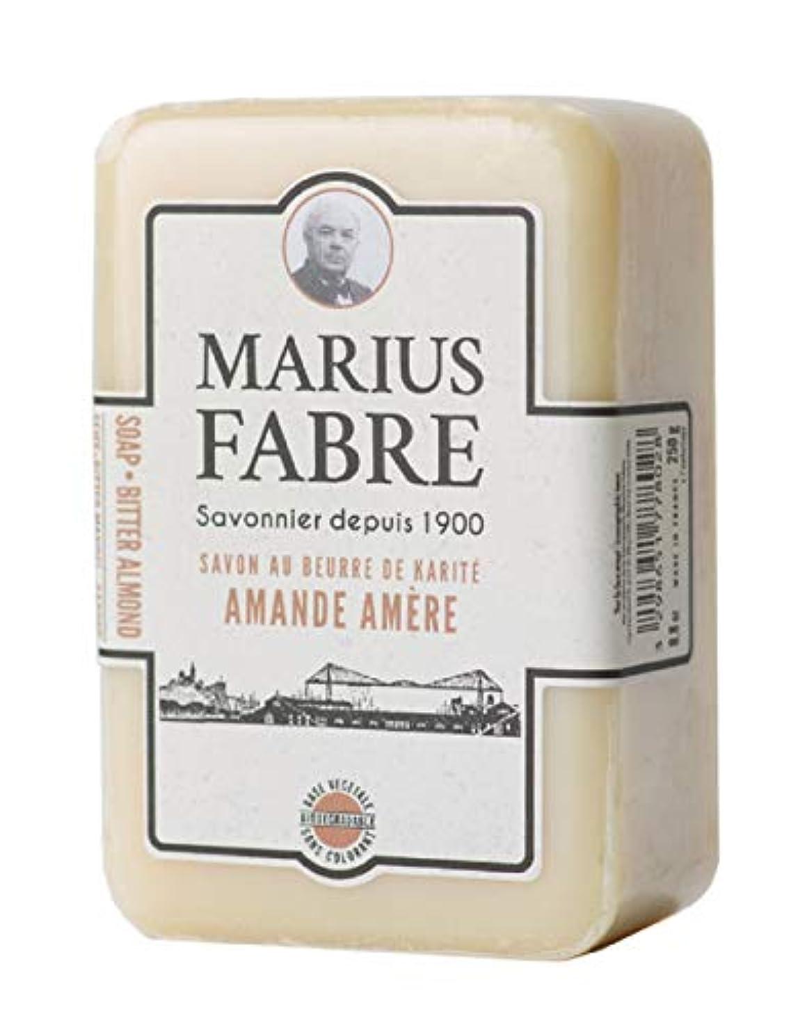 別れる祈るリーフレットサボンドマルセイユ 1900 ビターアーモンド 250g