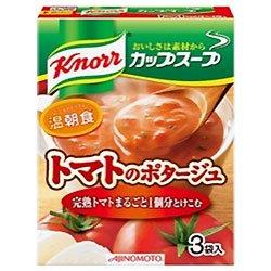 味の素 クノール カップスープ 完熟トマトまるごと1個分使ったポタージュ (18.2g×3袋)×10箱入×(2ケース)