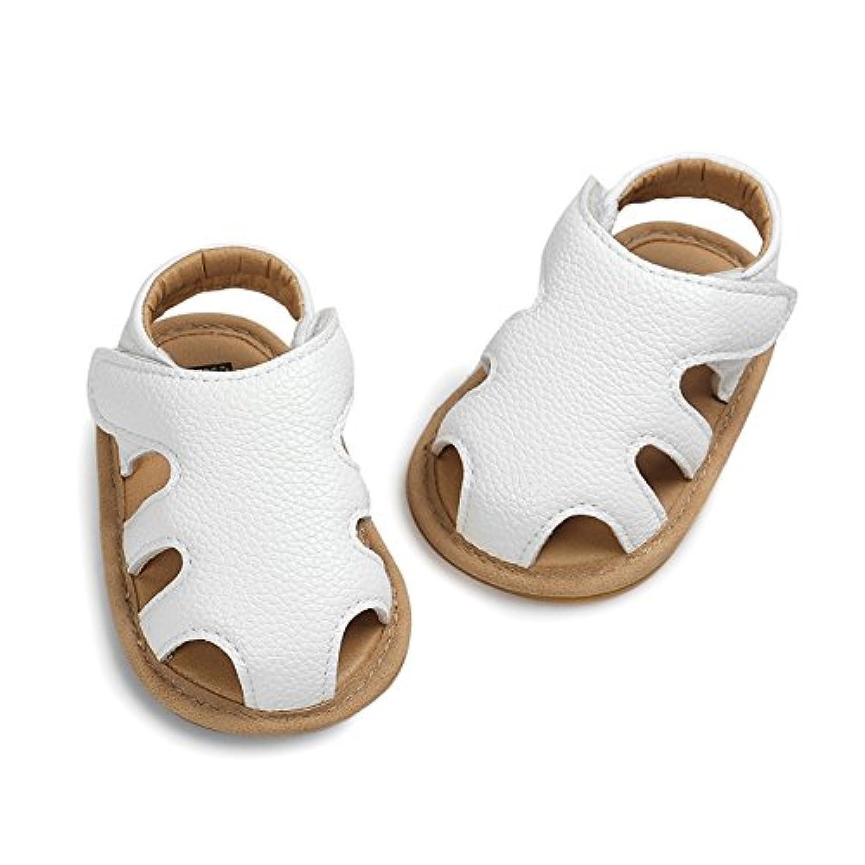ノーブランド品 サンダル ベビー 夏 ファーストシューズ 女の子 男の子 11CM 12CM 13CM 赤ちゃん 幼児 ベビー靴 ベビーシューズ トレーニングシューズ 柔らかい 滑り止め 軽い 歩きやすい 出産祝い シューズ 靴