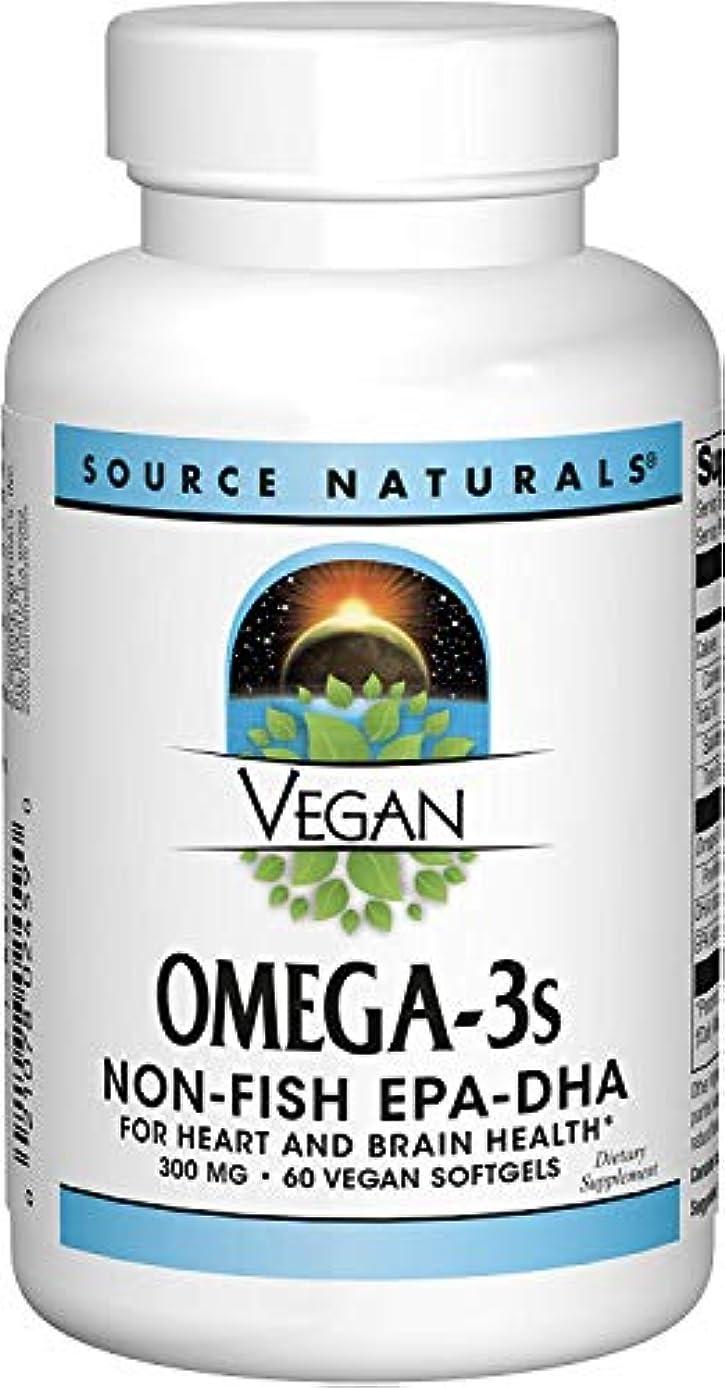 召喚するパイロット蓮ソースナチュラルズ社 植物由来の優れたEPA/DHA!Vegan Omega-3s 生臭いあと味も臭いも残りません! (60粒)
