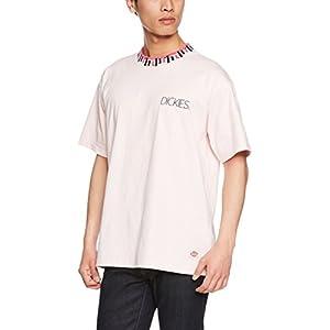 (ディッキーズ)Dickies 刺繍入り衿ジャカードリブオーバーサイズS/S -Tシャツ 182M30WD01 LK LK L