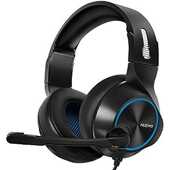 ARKARTECH N11 ヘッドセット ヘッドホン ヘッドフォン マイク付き PC ps4対応 密閉型 高音質 有線 遮音 5.1 パソコン スカイプに対応 ブルー N11 Blue
