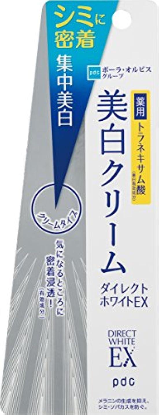 うん開発する実質的にダイレクトホワイトEX 美白クリーム 25g (医薬部外品)