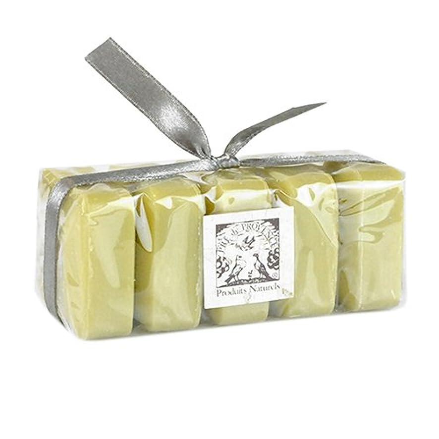 悪因子食物揃えるPRE de PROVENCE シアバター エンリッチドソープ ギフトパック バーベナ VERBENA プレ ドゥ プロヴァンス Shea Butter Enriched Soap