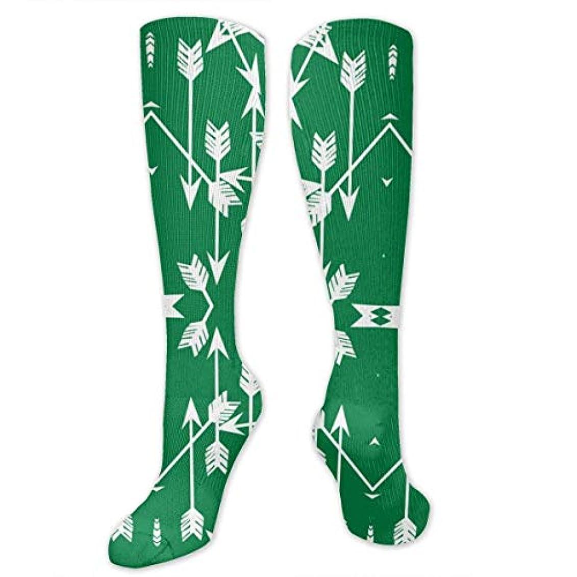 もちろんまたは戦略靴下,ストッキング,野生のジョーカー,実際,秋の本質,冬必須,サマーウェア&RBXAA Arrow Green Socks Women's Winter Cotton Long Tube Socks Cotton Solid...