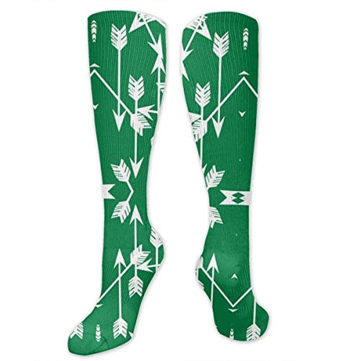 アサート平和逃す靴下,ストッキング,野生のジョーカー,実際,秋の本質,冬必須,サマーウェア&RBXAA Arrow Green Socks Women's Winter Cotton Long Tube Socks Cotton Solid...