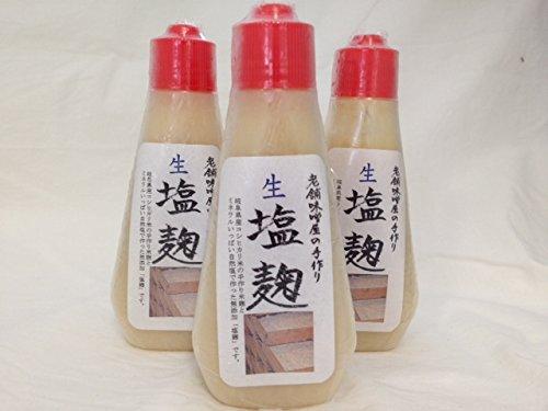 マルコ醸造 老舗味噌屋の手づくり塩麹 190gチューブ入