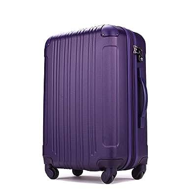 スーツケース (機内持込サイズ(1~3泊/33(拡張時40)L), パープル)