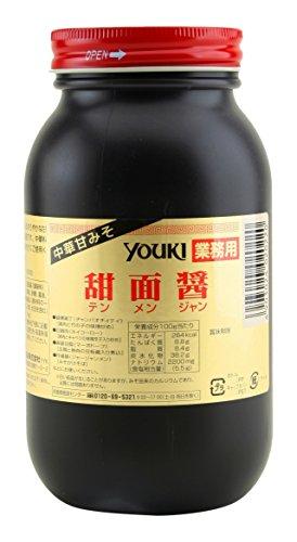 ユウキ食品 甜面醤(甜麺醤)1kg/ポリ瓶【テンメンジャン 甜面醤】黒あまみそ業務用食材