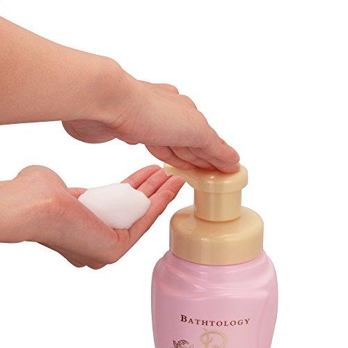 バストロジー 泡のボディケアウォッシュ ホワイトフローラルの香り 450ml