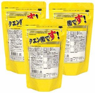 クエン酸です!【3袋セット】ミナミヘルシーフーズ