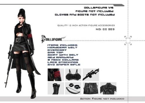 1/6 Dollsfigure(ドールズフィギュア) コスチューム 衣装 『女性スペシャルエージェントセット』
