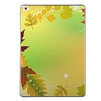 iPad mini mini2 mini3 共通 スキンシール retina ディスプレイ apple アップル アイパッド ミニ A1432 A1454 A1455 A1489 A1490 A1491 A1599 A1600 タブレット tablet シール ステッカー ケース 保護シール 背面 人気 単品 おしゃれ フラワー 紅葉 秋 001300