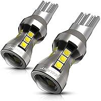 SEALIGHT T16 T15 LED バックランプ 高輝度 真実爆光 1200ルーメンキャンセラー内蔵 後退灯 バックライト ホワイト LED 18連3030SMD 無極性 12V 50000時間以上寿命 2年保証 (2個入り)