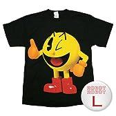 ナムコ パックマン 3DサムアップTee/Pacman Thumbs Up T-Shirt ゲームTシャツ L【並行輸入】