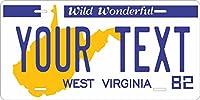 West Virginia 1982–95Personalized CutomsノベルティタグVehicle Carモペットバイク自転車オートバイ自動Licens。。。