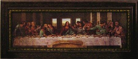 「最後の晩餐」 レオナルド ダ ヴィンチ【 /(世界の名画・レオナルド ダ ヴィンチ・アートポスター[絵画通販])