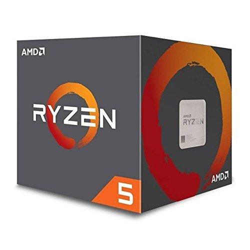 AMD CPU Ryzen5 1600 with Wraith Spire ...