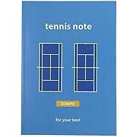 販売 テニスノート(1冊) A5判/2面タイプ[ブルー]