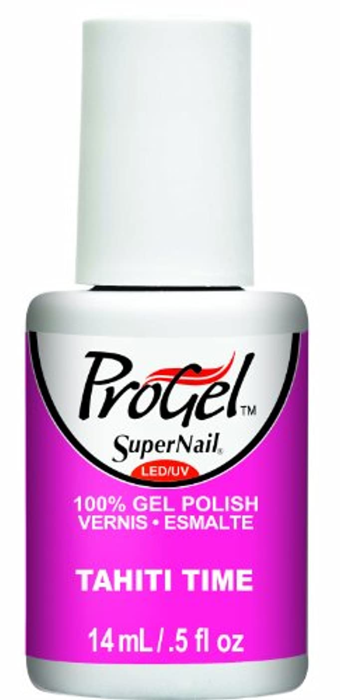 クラウン達成するハンドブックSuperNail ProGel Gel Polish - Tahiti Time - 0.5oz / 14ml