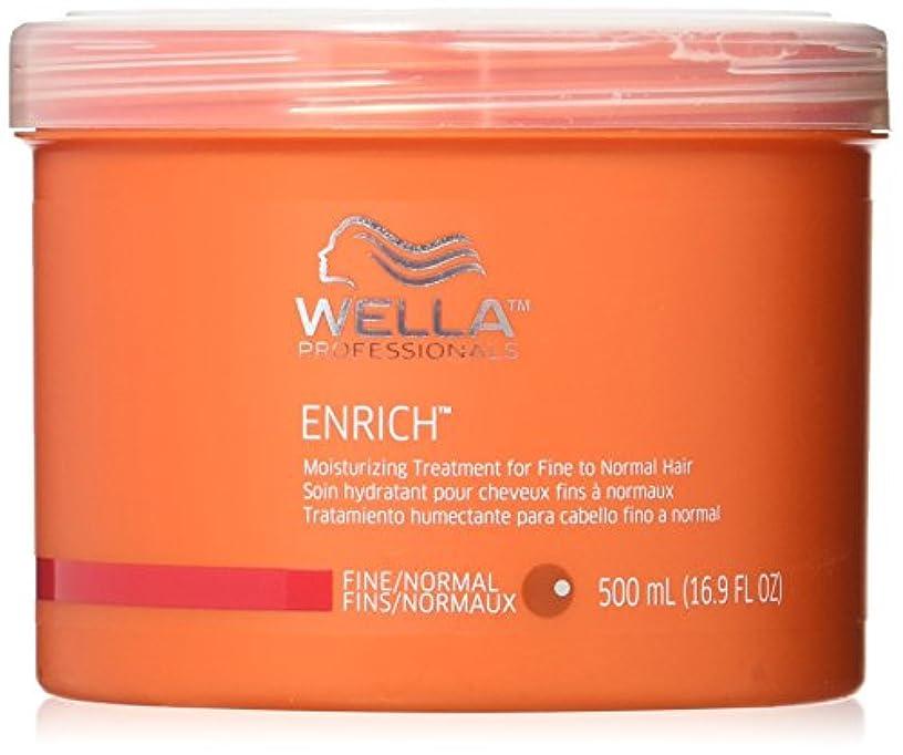 コンデンサー本気剃るEnrich Moisturizing Treatment For Fine To Normal Hair