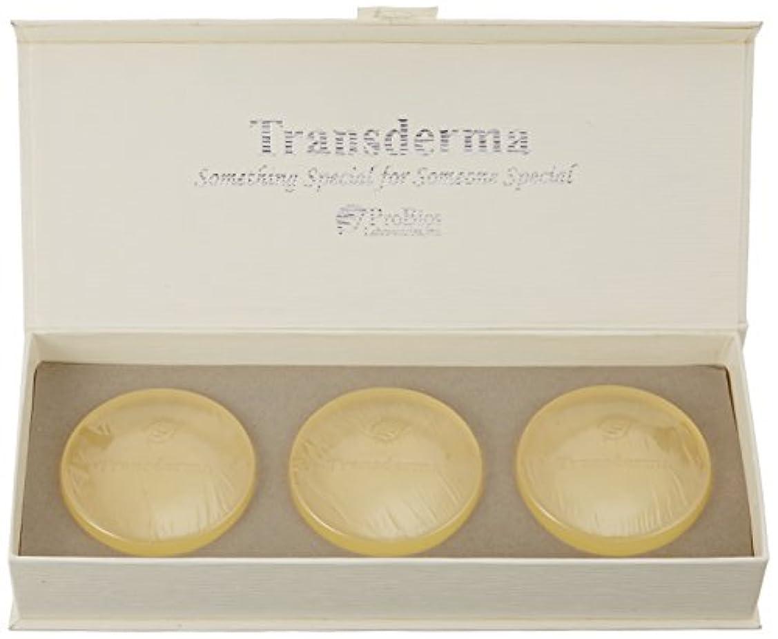 乱用ランデブー放射能トランスダーマ ソープ(3個入)