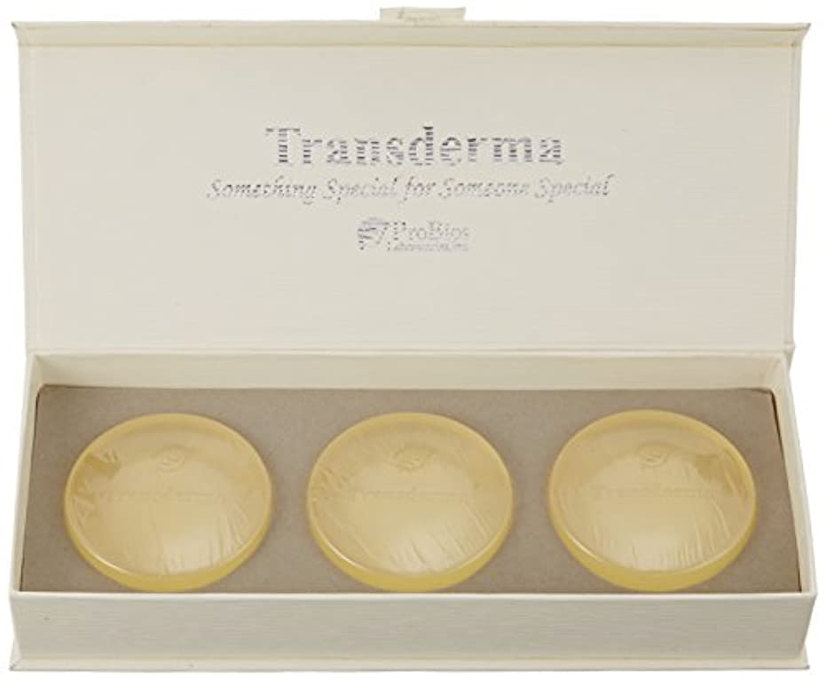 国際頬骨を通してトランスダーマ ソープ(3個入)
