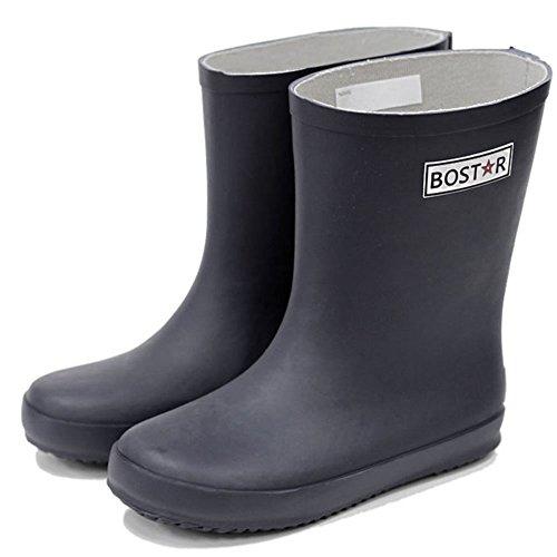 キッズ 長靴 BOST-R ボストアール 子供 男の子 女の子 レインブーツ (13cm-23cm) 21cm,ダーク・ネイビー