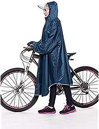 Acexy レインコート 自転車 バイク ロング ポンチョ 男女兼用 通勤通学 フリーサイズ 軽量 完全防水 収納袋付き