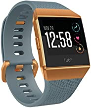 FITBIT Ionic Smartwatch, Slate Blue and Burnt Orange (S and L Bands Included)