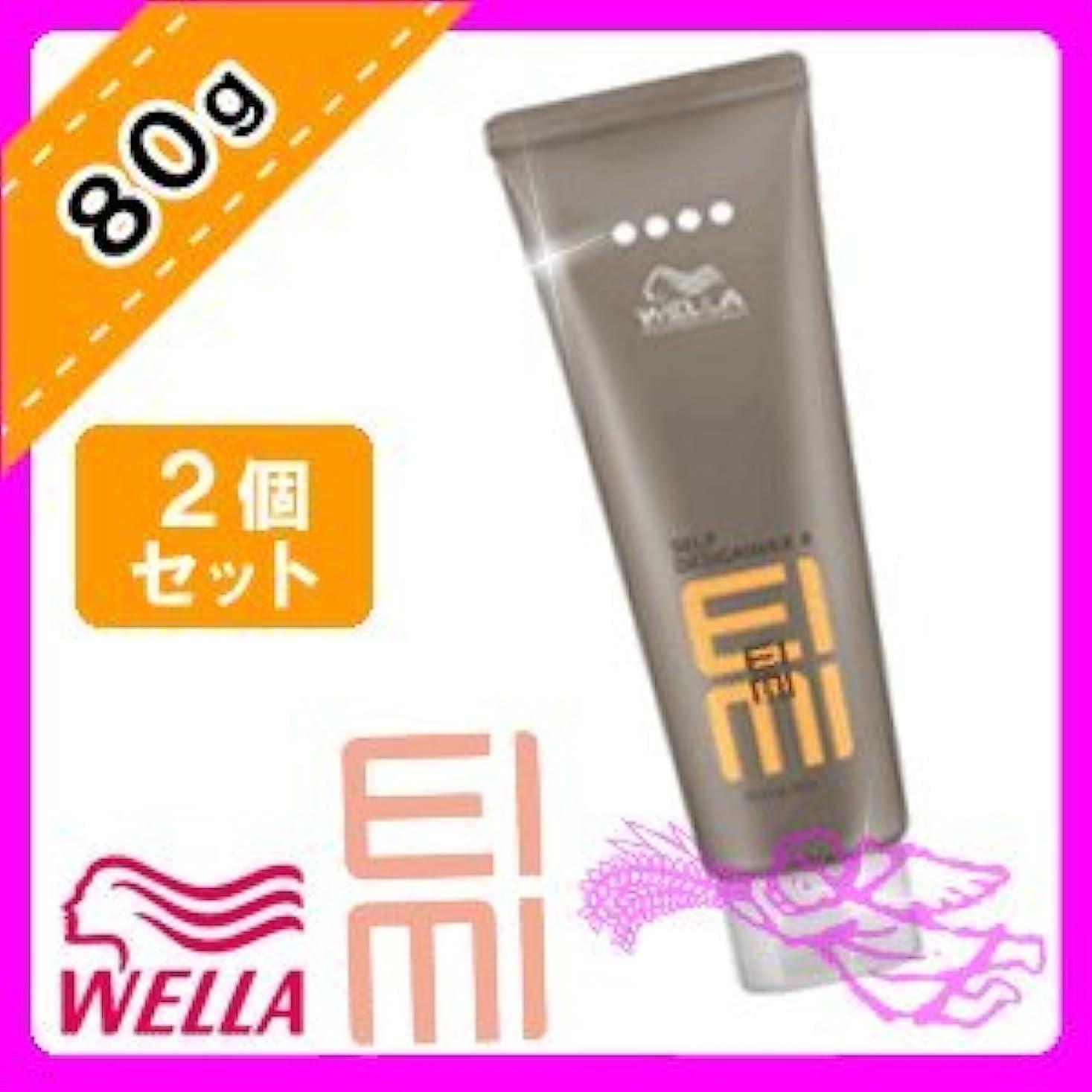 違う選ぶ司書ウエラ EIMI(アイミィ) セルフデザインワックス4 80g ×2個 セット WELLA P&G